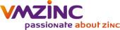 Logo VMZinc zinkwerken voor gevel, goot en dak