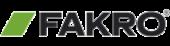 Fakro logo - een van de merken die Dakwerken Verschueren uit Oudenaarde installeert